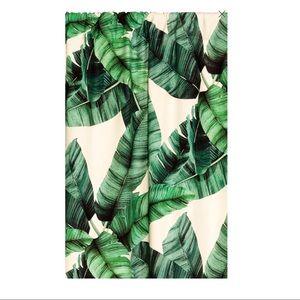 H&M leaf print curtains